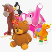 Doldurulmuş oyuncaklar 3d model