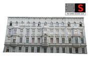 Fasada uliczna 16 tys 3d model