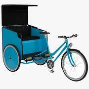 Pedicab V2 3d model
