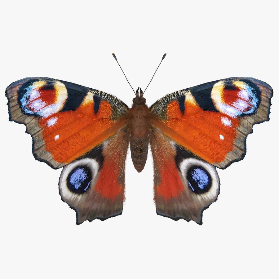 Fjäril Fjäriln vingad