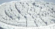 Dome City 06 3d model