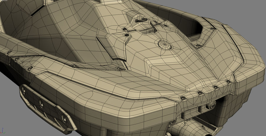 SEA-DOO Spark on Trailer royalty-free 3d model - Preview no. 33