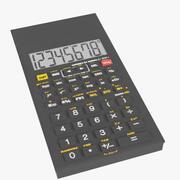 Electronic calculator 2 3d model