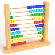 Abacus leksak 3d model