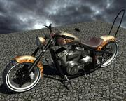 rower chopper 3d model