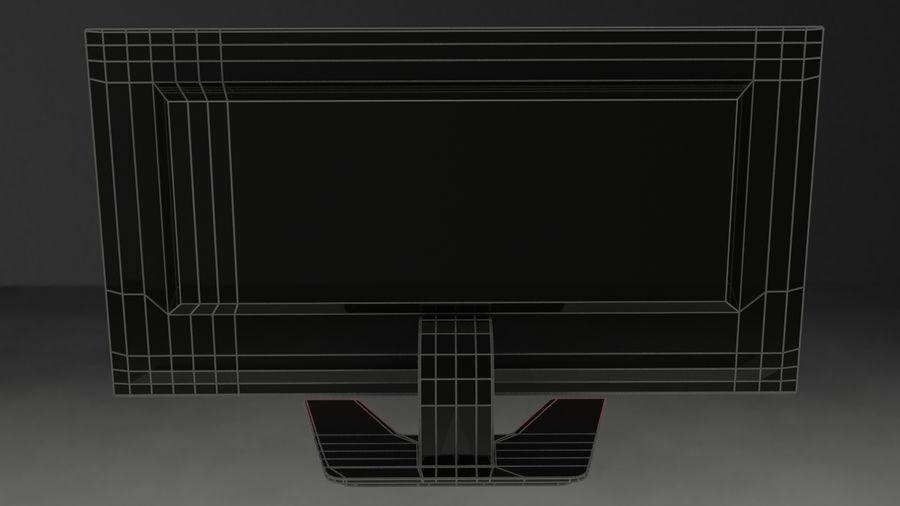 Monitor de computadora royalty-free modelo 3d - Preview no. 10