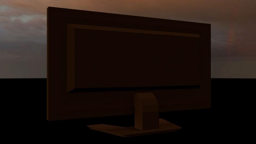 Monitor de computadora royalty-free modelo 3d - Preview no. 8