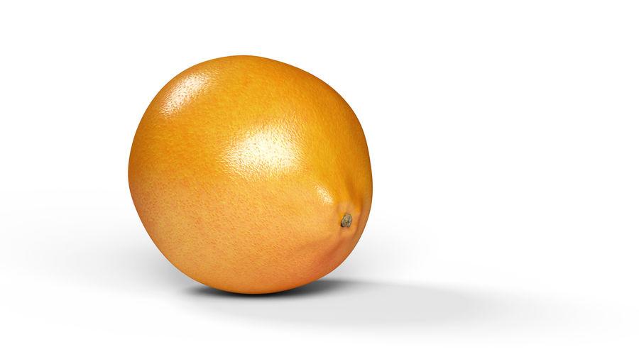リアルなオレンジ royalty-free 3d model - Preview no. 2