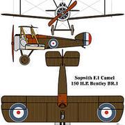 WW2-plan 3d model