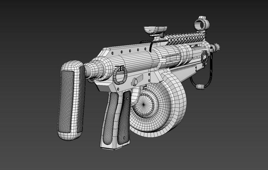 돌격 소총 royalty-free 3d model - Preview no. 11