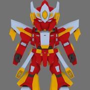 Super Mecha 10 - Geen 3d model