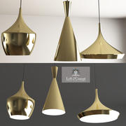 Beat Light Brass DESIGNED BY TOM DIXON. 3d model