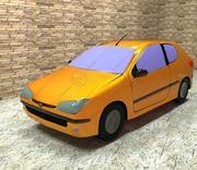 車_プジョー_206 3d model