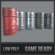 Barrels Collection PBR 3d model