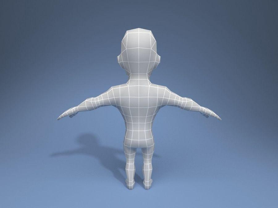 Personagem medieval liegeman 5 royalty-free 3d model - Preview no. 12