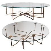 テーブルガロッティと無線の接続 3d model