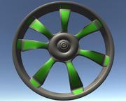 Araba Jantları 3d model
