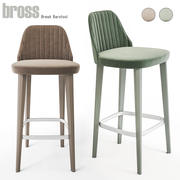 Break Barstool by Bross 3d model
