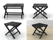 艾米莉小桌子 3d model