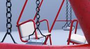 swing metaal 3d model