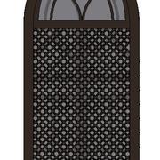 Fönster-islamic 3d model