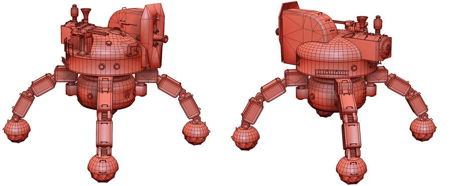 Bot Steampunk royalty-free 3d model - Preview no. 2