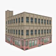 Edifício industrial XI 3d model