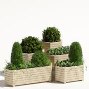 Jardinera modelo 3d