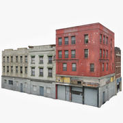 Apartment Building Block VII 3d model