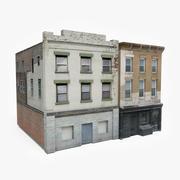Apartment Building Block XII 3d model