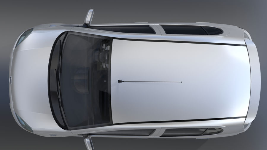 トヨタヴィッツ2004 royalty-free 3d model - Preview no. 4
