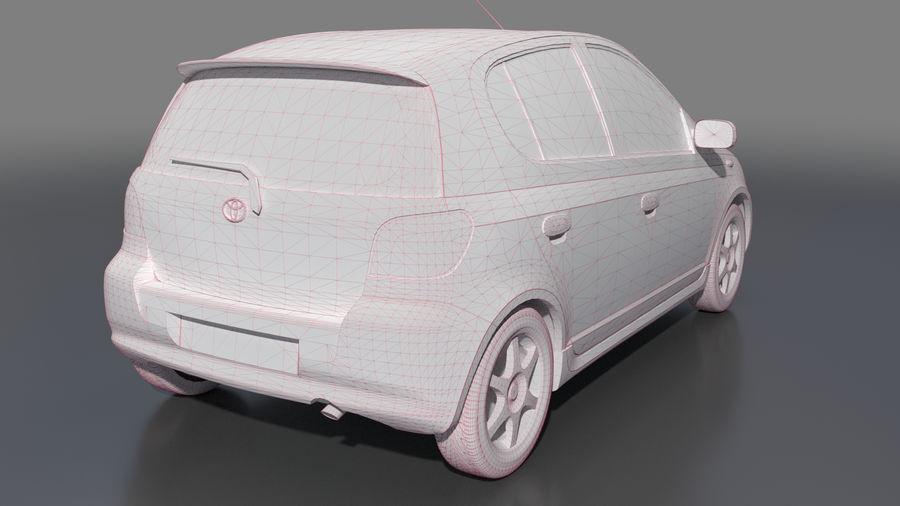 トヨタヴィッツ2004 royalty-free 3d model - Preview no. 7