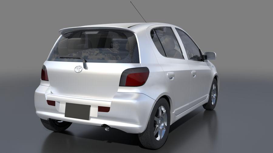 トヨタヴィッツ2004 royalty-free 3d model - Preview no. 2