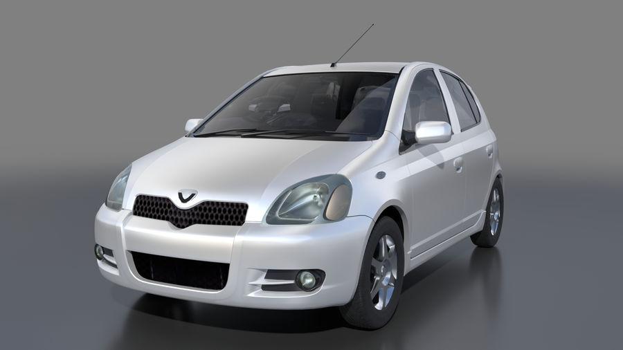 トヨタヴィッツ2004 royalty-free 3d model - Preview no. 1