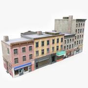 Apartment Building Block IV 3d model