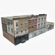 Apartment Building Block XI 3d model