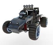 Buggy interceptor 3d model