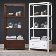 RH HUTTON TALL ETAGERE 3d model