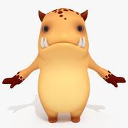 Cartoon Monster Sweetie Alan 3d model