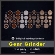Pacchetto risorse Gear Grinder 3d model