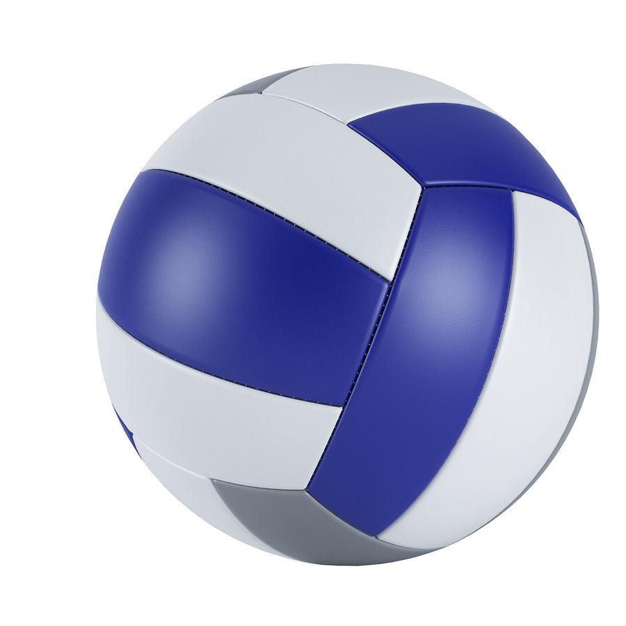VOLLEY BALL royalty-free 3d model - Preview no. 3