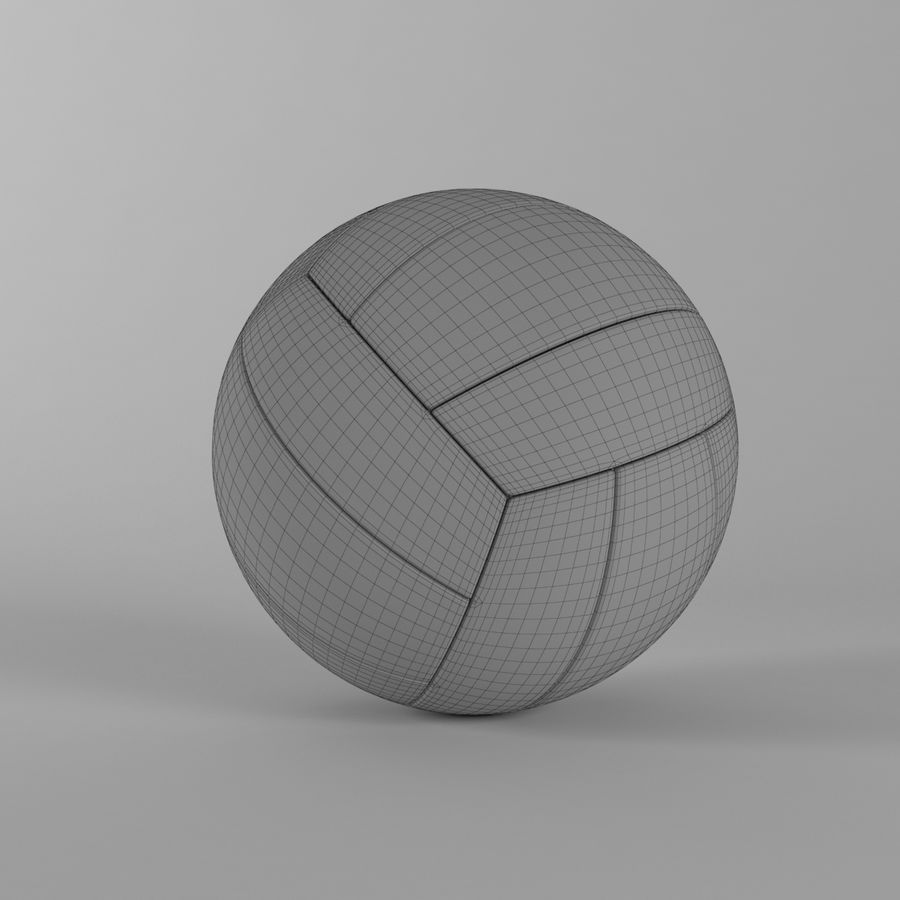 VOLLEY BALL royalty-free 3d model - Preview no. 6