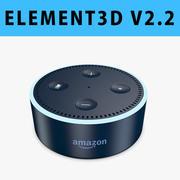 E3D-アマゾンエコードット(第2世代) 3d model