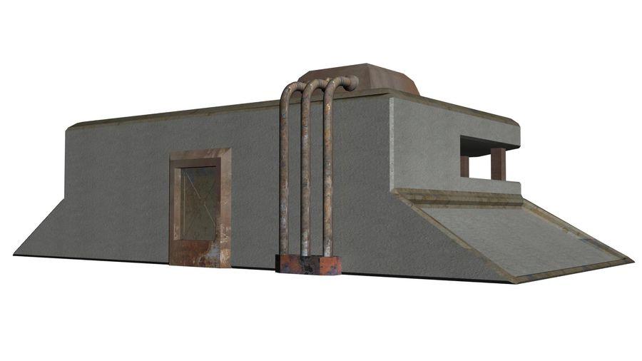 陣地壕 royalty-free 3d model - Preview no. 3