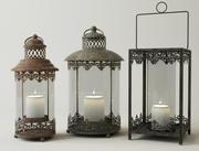 Metal Candleholders 3d model