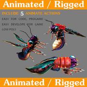 ateş böceği 3d model