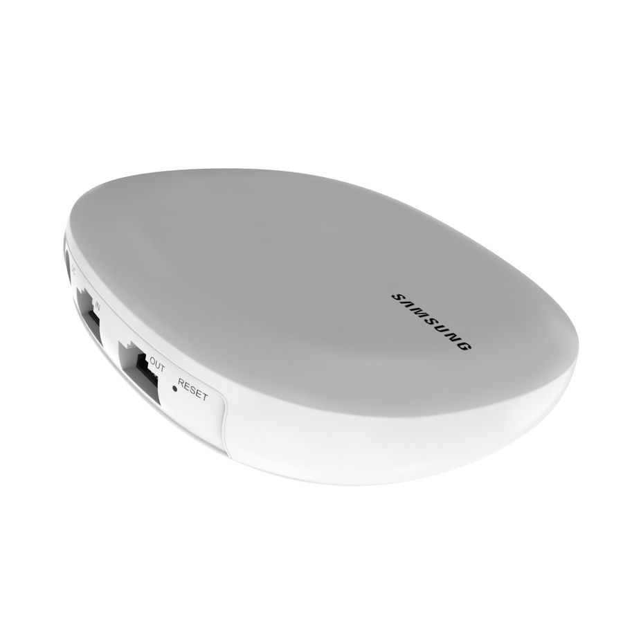 Sistema Wi-Fi em casa inteira Connect Home Pro AC2600 royalty-free 3d model - Preview no. 10