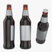Botella de cerveza modelo 3d