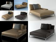 Parkera chaiselongue 3d model