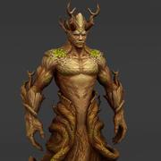 Drzewne elfy 3d model